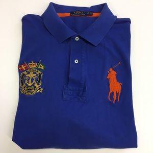 Men's Polo Ralph Lauren Marine Polo Shirt 2XL